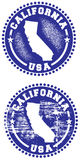 Sceau de la Californie Etats-Unis Photo stock