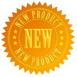 Sceau de nouveau produit Photos stock