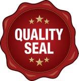 Sceau de qualité Photos libres de droits