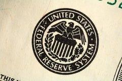 Sceau de réserve fédérale Photographie stock