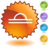 Sceau réglé - Balance Photographie stock libre de droits