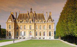 Sceaux castle in France Stock Photos