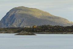 scedne Норвегии фьорда круиза Стоковые Фото