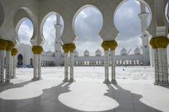 Sceicco Zayed Al Nahyan Mosque - Abu Dhabi Immagini Stock Libere da Diritti