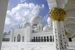 Sceicco Zayed Al Nahyan Mosque - Abu Dhabi Fotografie Stock