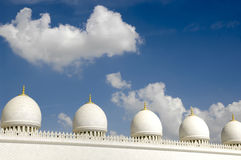 Sceicco Zayed Al Nahyan Mosque - Abu Dhabi Immagine Stock
