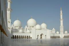 Sceicco Zayed Al Nayhan Mosque Immagini Stock Libere da Diritti