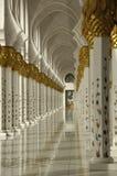 Sceicco Zayed Al Nayhan Mosque Immagine Stock Libera da Diritti