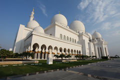 Sceicco Zayed Grand Mosque Immagini Stock
