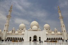 Sceicco Zayed Grand Mosque Fotografia Stock