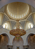 Sceicco Zayed Grand Mosque Fotografie Stock