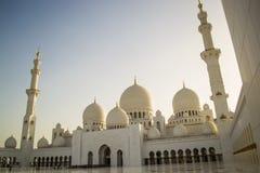 Sceicco Zayed Grand Mosque fotografie stock libere da diritti