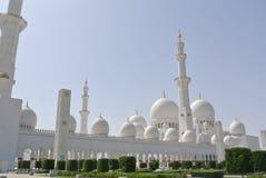 Sceicco Zayed Grand Mosque Fotografia Stock Libera da Diritti