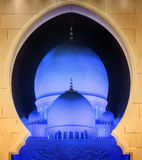 Sceicco Zayed Grand Mosque Immagine Stock