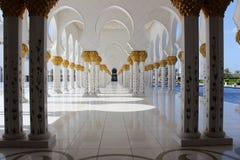 Sceicco Zayed Grand Mosque Immagini Stock