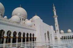 Sceicco Zayed Grand Mosque nell'Abu Dhabi, UAE Fotografia Stock