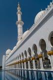 Sceicco Zayed Grand Mosque nell'Abu Dhabi, UAE Immagini Stock Libere da Diritti