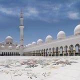 Sceicco Zayed Moqsue Fotografia Stock Libera da Diritti