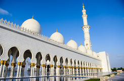 Sceicco Zayed Mosque Immagine Stock Libera da Diritti