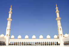 Sceicco Zayed Mosque Fotografie Stock Libere da Diritti