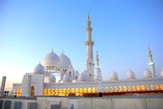 Sceicco Zayed Mosque Fotografie Stock