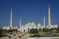 Sceicco Zayed Mosque Abu Dhabi fotografia stock
