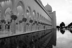 Sceicco Zayed Mosque, Abu Dhabi Fotografie Stock