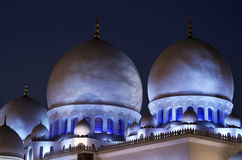 Sceicco Zayed Mosque, Abu Dhabi Immagine Stock