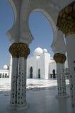 Sceicco Zayed Mosque dell'Abu Dhabi Fotografia Stock Libera da Diritti