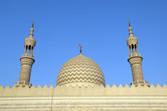 Sceicco Zayed Mosque Ras al-Khaimah Doubai Fotografie Stock Libere da Diritti