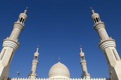 Sceicco Zayed Mosque Ras al-Khaimah Doubai Fotografia Stock Libera da Diritti