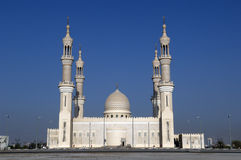 Sceicco Zayed Mosque Ras al-Khaimah Doubai Immagini Stock Libere da Diritti