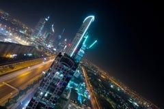 Sceicco Zayed Road Fotografia Stock Libera da Diritti