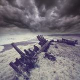 Sceleton coast Royalty Free Stock Image
