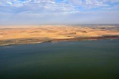 The sceleton coast in Namibia Stock Photography