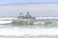 Sceleton coast. In Namibia, Africa stock images