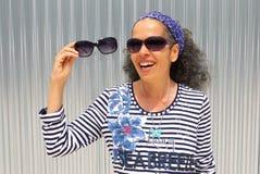 Scelga gli occhiali da sole Fotografie Stock Libere da Diritti