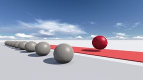 Scelga il modo corretto illustrazione vettoriale