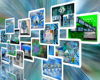 scelta Fotografia Stock