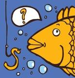 Scelta dei pesci illustrazione di stock