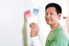 Scelta del colore fotografia stock