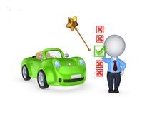 Scelta del concetto dell'automobile. Fotografie Stock