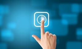 Scelta dell'applicazione Immagine Stock
