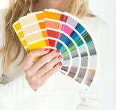 Scelta di colore immagini stock libere da diritti