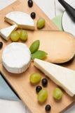 Scelta di formaggio Immagini Stock