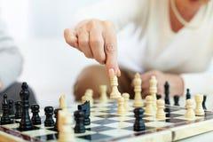 Scelta di scacchi Immagini Stock