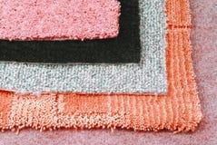 Scelta di selezione del tappeto fotografie stock