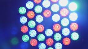 Scen światła lekki przedstawienie - muzyka klub - żywy koncert - zdjęcie wideo