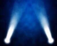 Scen światła reflektorów Obraz Stock