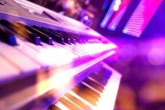 Scen światła więcej abstrakcyjne tła musical moje portfolio Bawić się piosenkę i concer Zdjęcie Royalty Free